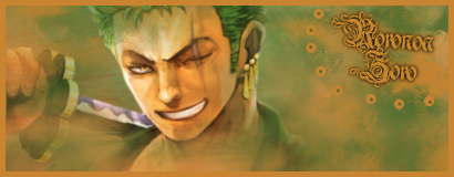 Créas Luffy-chan - Page 3 Zoro211
