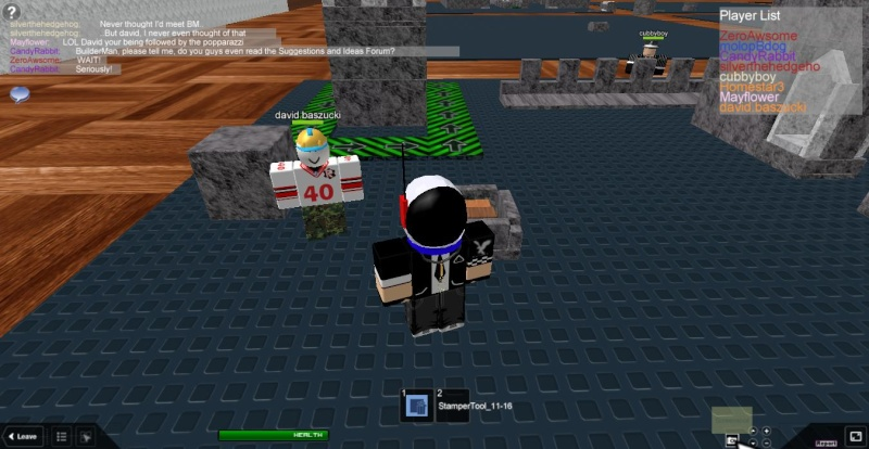 Meeting famous people on ROBLOX Roblox12