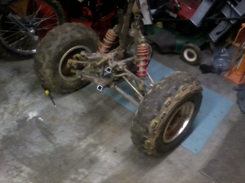 Buggy made from an ATV Buggy_11