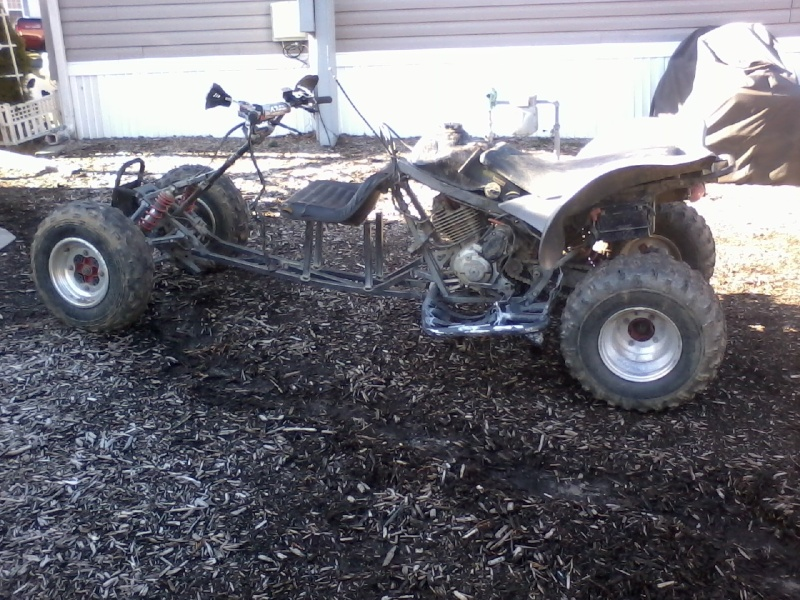 Buggy made from an ATV Buggy_15