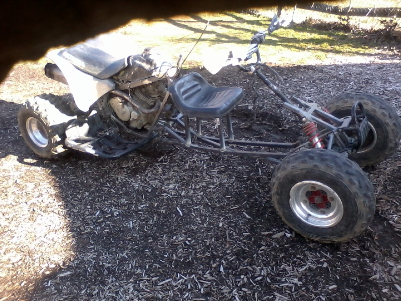 Buggy made from an ATV Buggy_16