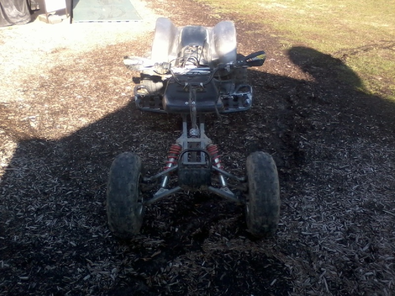 Buggy made from an ATV Buggy_17