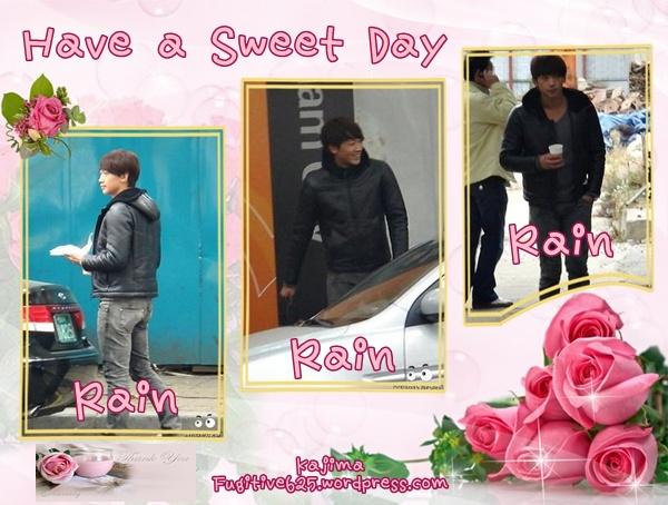 "Rain ""Ji Woo"" Fugitive PlanB Fan Art work Rain10"