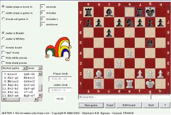 Jester java chess program Jester10