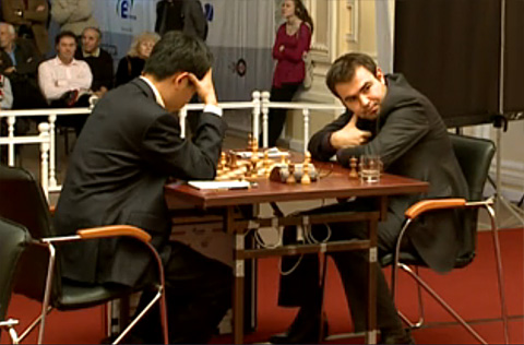 Tal Memorial: Mamedyarov takes lead; Karjakin crushes Kramnik Talmem12