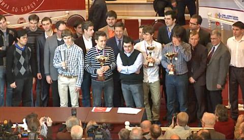Aronian wins World Blitz Championship Worldb10