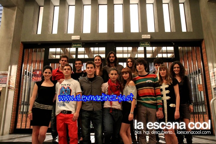 Sesión de fotos y entrevistas (6ª temporada) Aleeee10