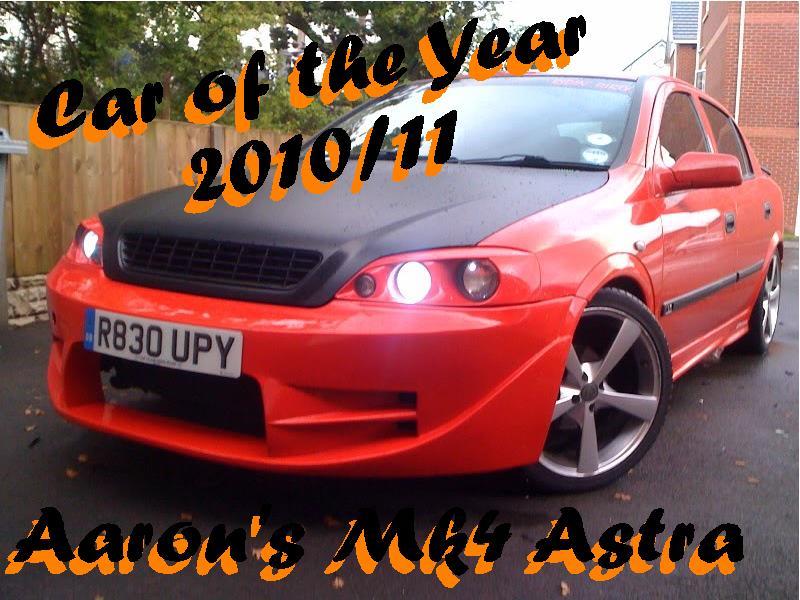 CAR OF THE YEAR WINNER Win10