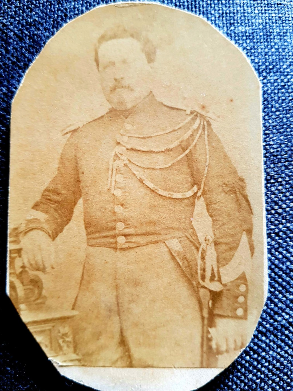Photo carte de visite. Gendarme? 20200125