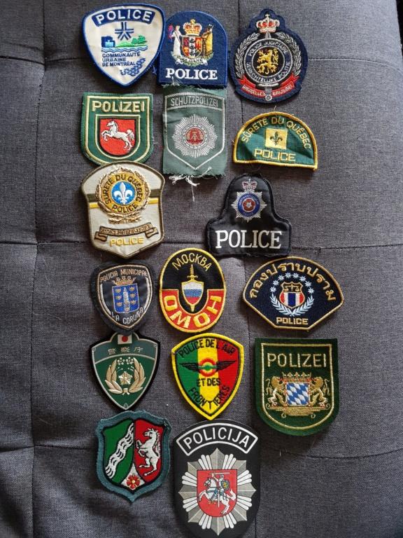 Patch polices du monde. 20201032