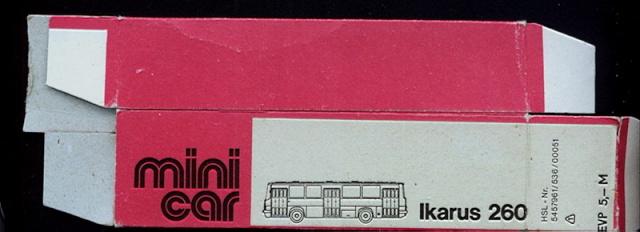 Omnibusse in 1:87 vor 1990 260-2-11