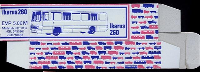 Omnibusse in 1:87 vor 1990 260-3-11