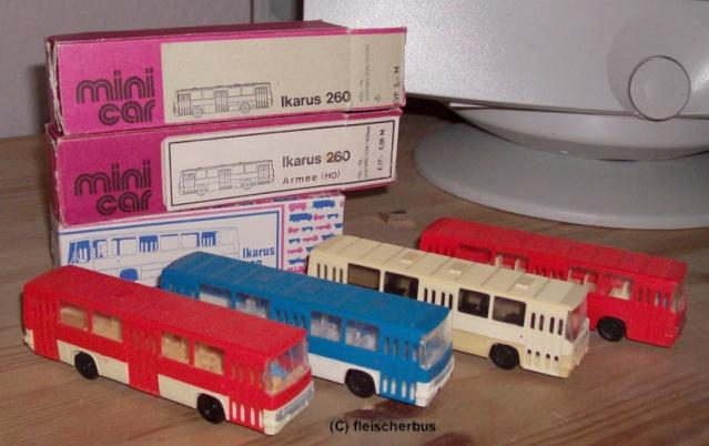 Omnibusse in 1:87 vor 1990 260-410