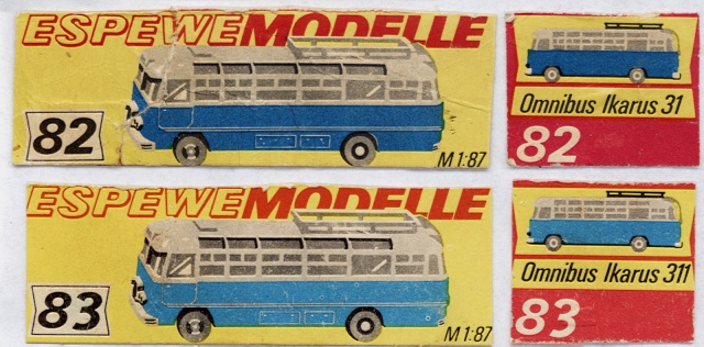 Omnibusse in 1:87 vor 1990 31-31110