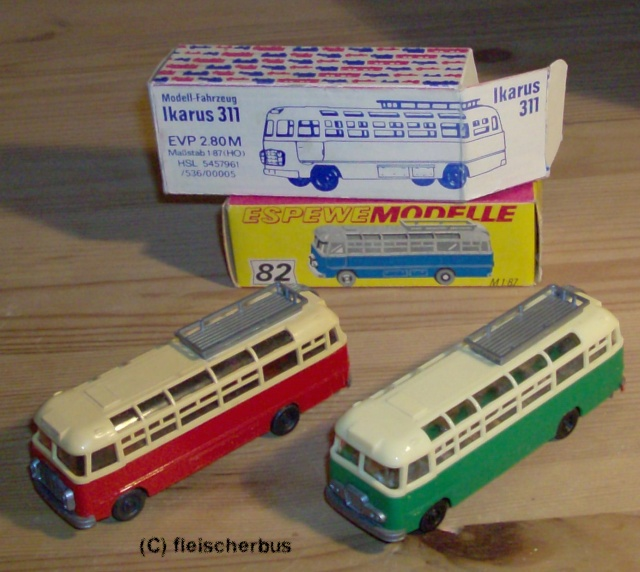 Omnibusse in 1:87 vor 1990 31-31115