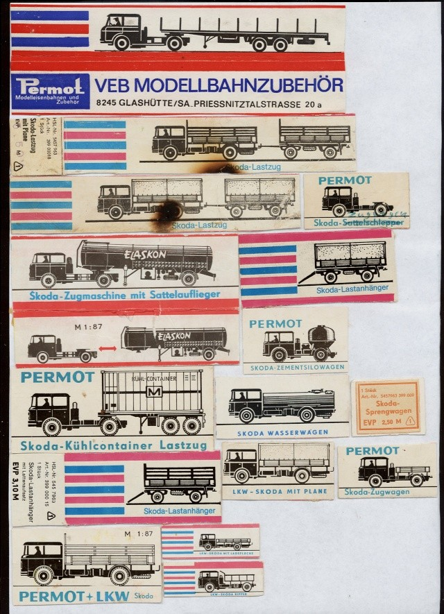 Skoda 706 Modelle  Permot19