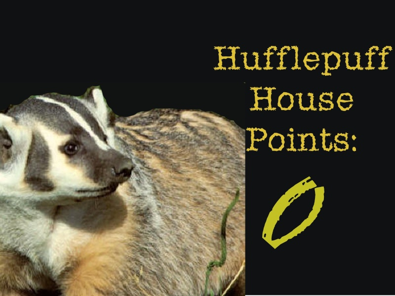 Hufflepuff Points Huffle11
