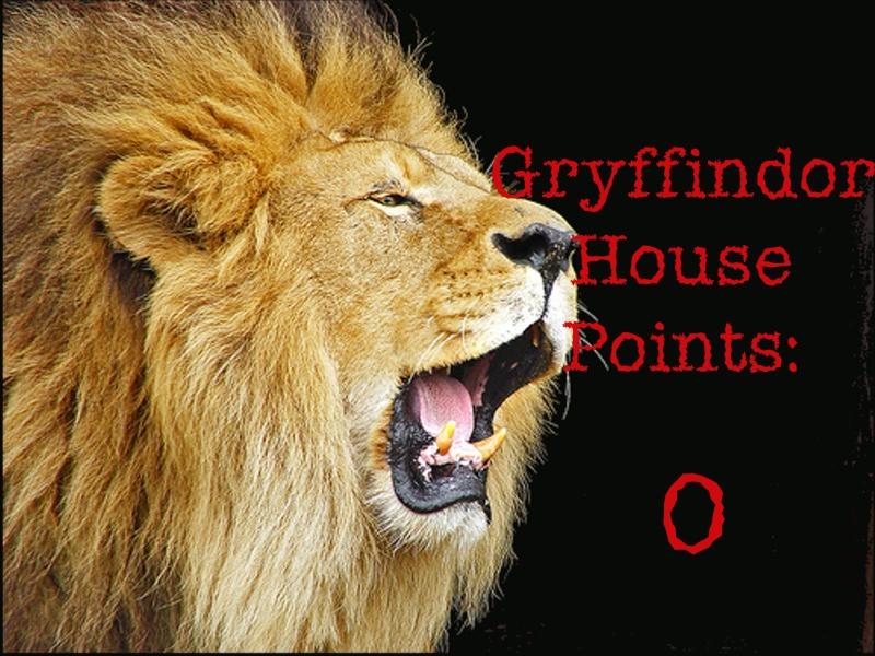 Gryffindor Points Recent10