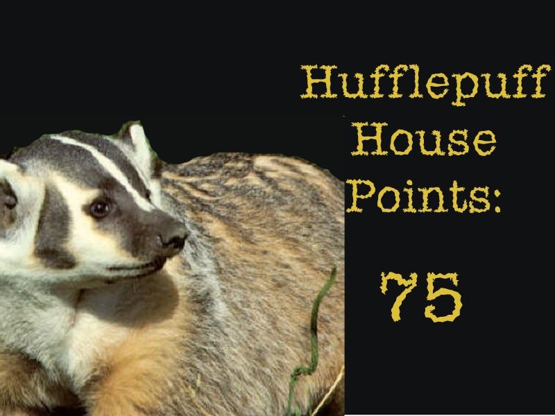 Hufflepuff Points Recent12
