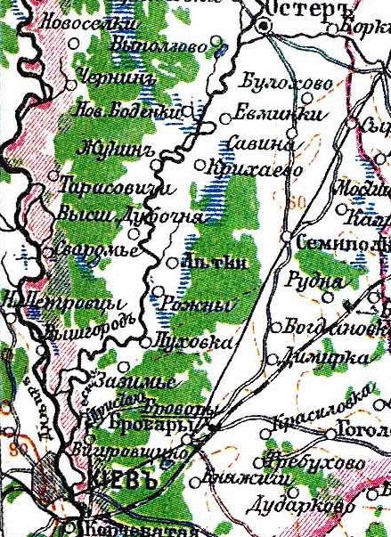 Бровары на картах Dndddn10