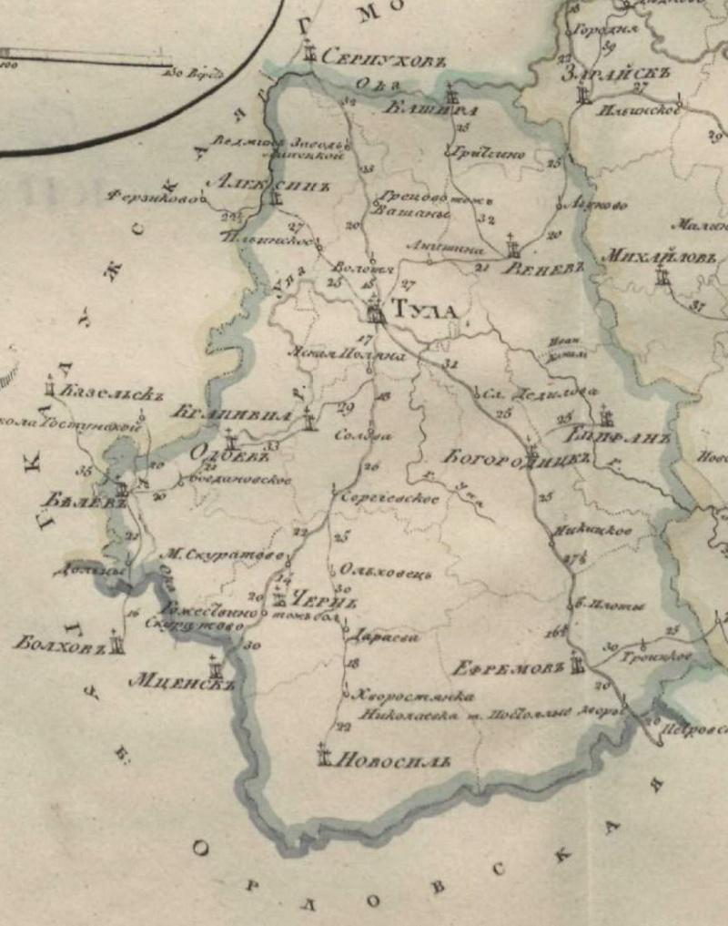 Карты Тульской губернии Dsdndd11