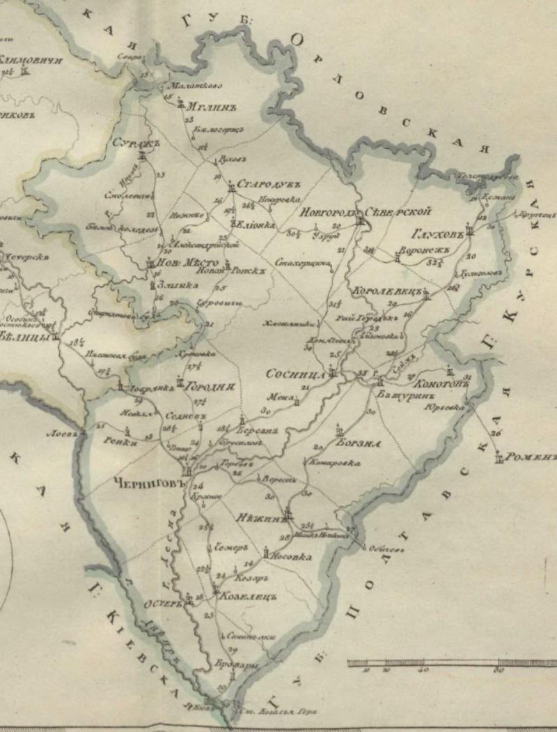 Карты Черниговской губернии Dsdndd14