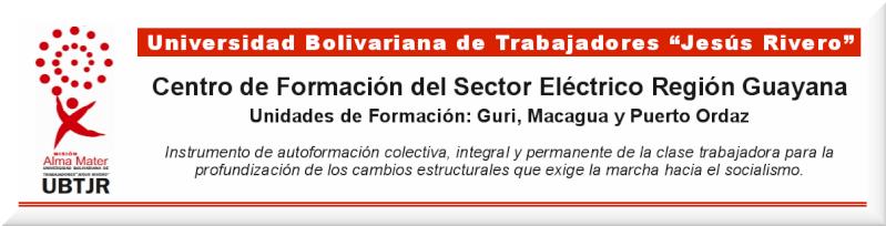 Foro UBTJR Sector Eléctrico Guayana