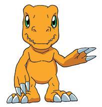 Tu Digimon Botamon. Agumon10