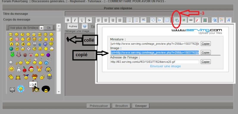 - Imprime ecran avec l'hebergeur d'image du fofo Explic12