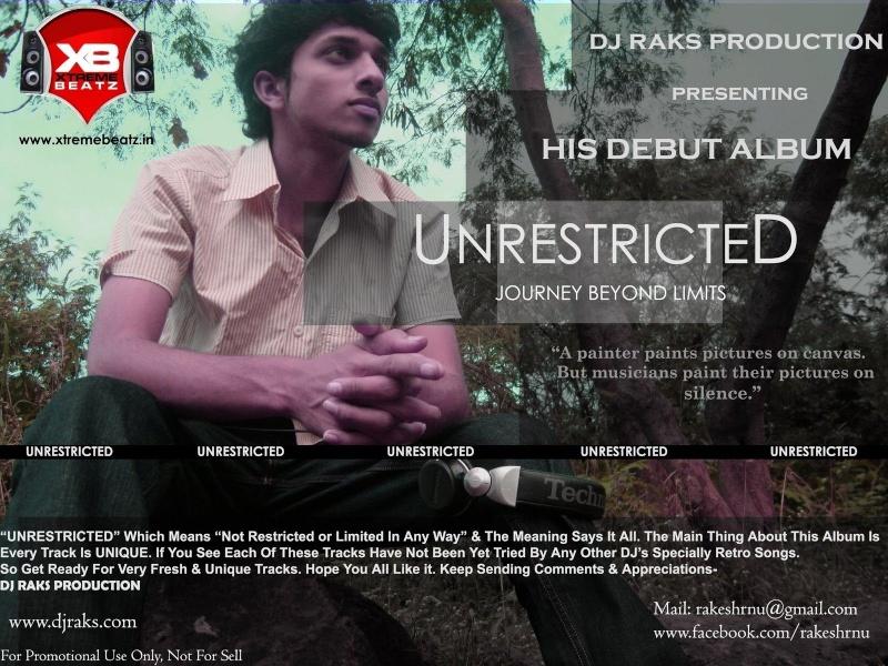 DJ Raks - Unrestricted Front10