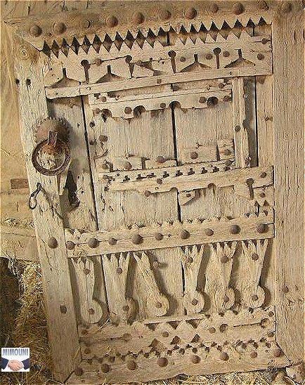 Art Amazigh de la menuiserie Archit10