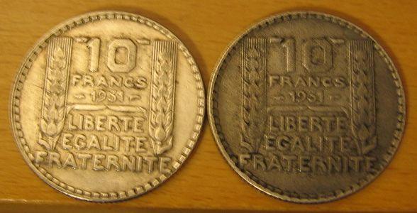 Piece 10 francs turin 1931 10fr10