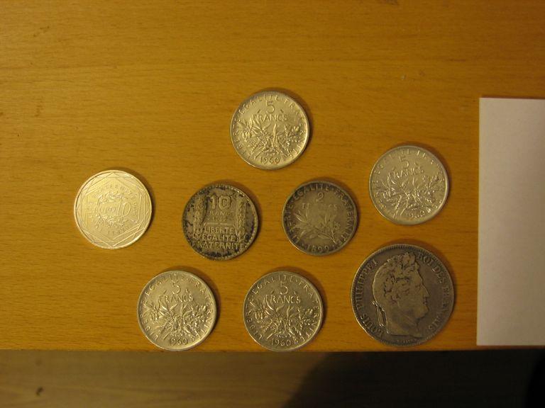 """Pièce de 5 francs """"Semeuse"""" de 1960 Pieces10"""