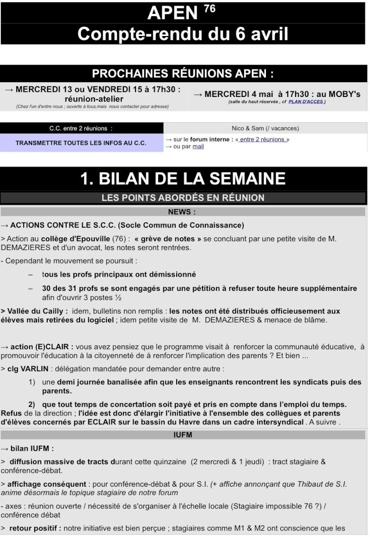 COMPTE-RENDU DE LA RÉUNION DU 6 avril  & ENTRE 2 RÉUNION DU 6/04 AU 4/05 1_cr_d10