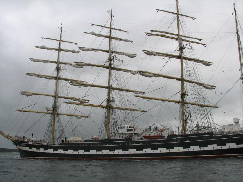 Petit tour sur le quatre mats barque Kruzenshtern Img_0612