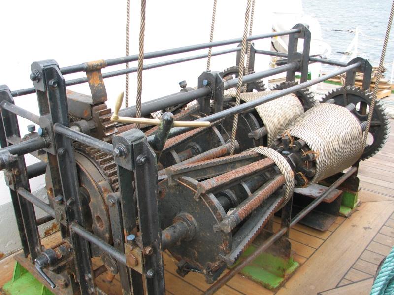Petit tour sur le quatre mats barque Kruzenshtern Img_0711