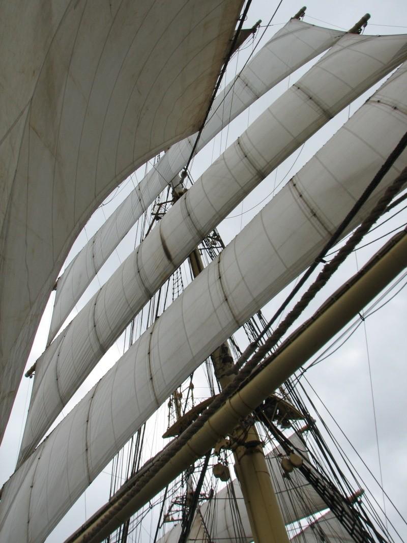 Petit tour sur le quatre mats barque Kruzenshtern Img_0810