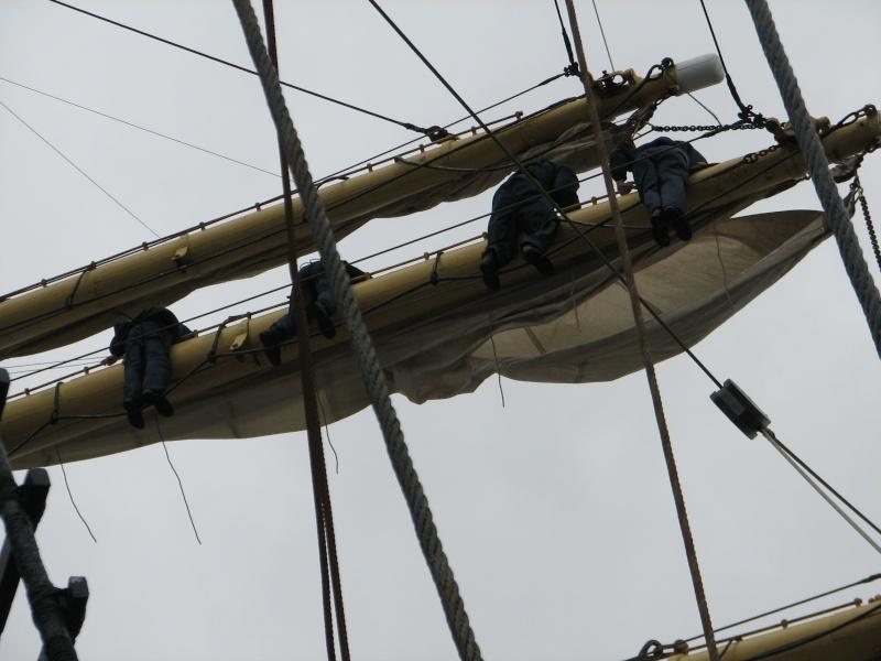 Petit tour sur le quatre mats barque Kruzenshtern Img_0811