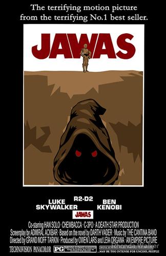 Star Wars : série d'affiches détournées Jawas10
