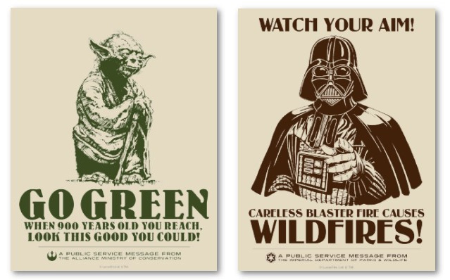 Star Wars Fan art (official licensed) - ORGANICS Sw-org10