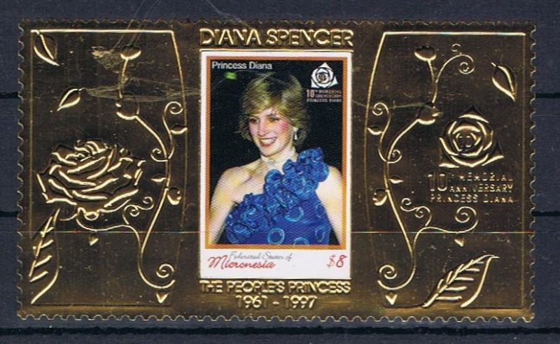 Diana, Prinzessin von Wales Mikron10
