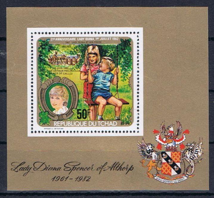 Diana, Prinzessin von Wales Tschad12