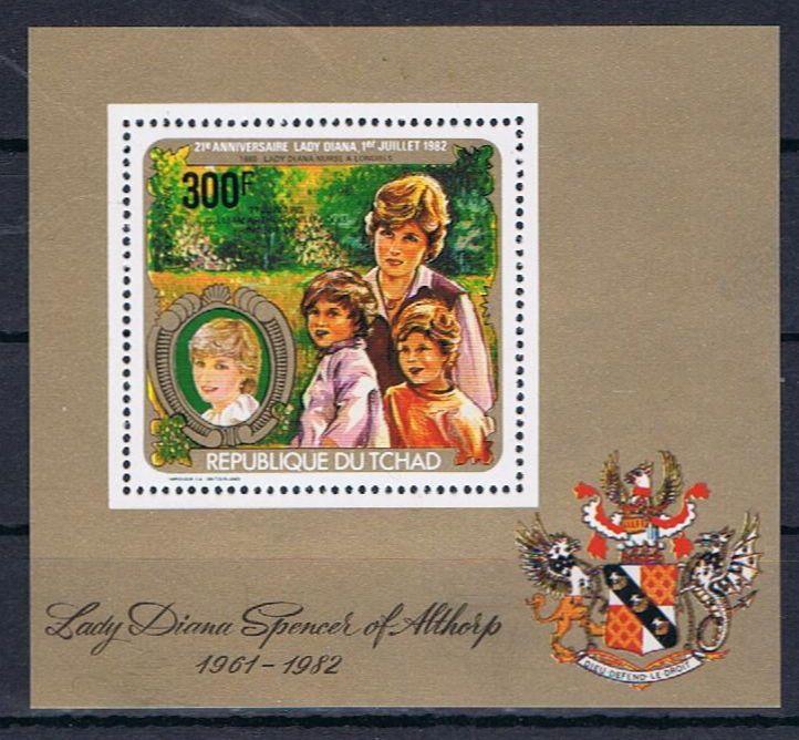 Diana, Prinzessin von Wales Tschad14