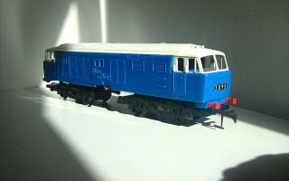 Hymek class 35 live diesel 49831010