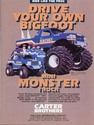 Carter Brothers Poster for the BigFoot Mini Monster Truck Go kart   Bigfoo10