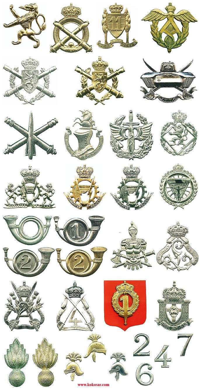 Belgian Army Insignia Belvo111