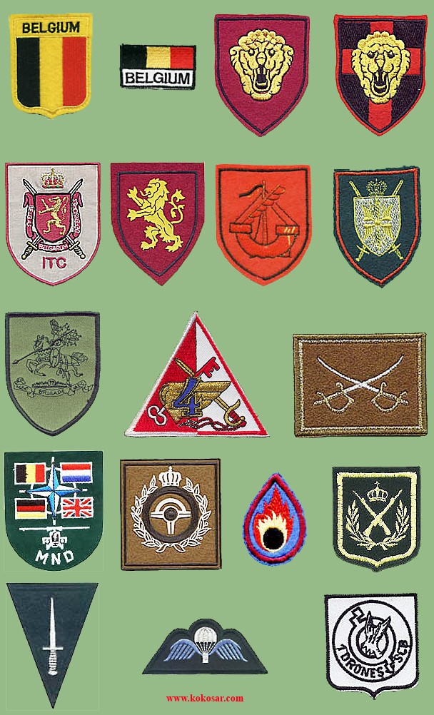 Belgian Army Insignia Belvoj10
