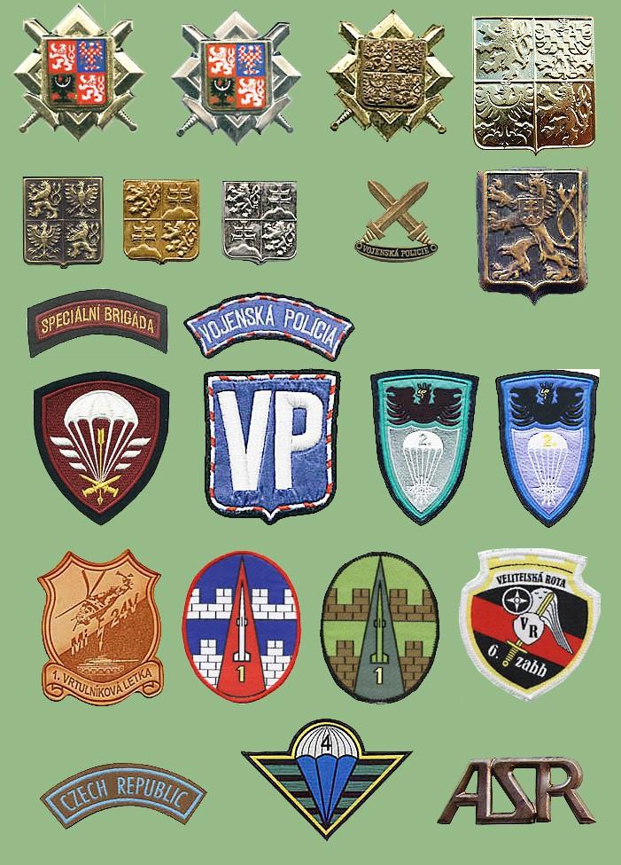 Patches, insignias Ceskav10
