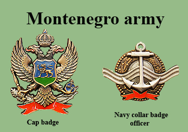 Montenegro Army patches Cg-voj10