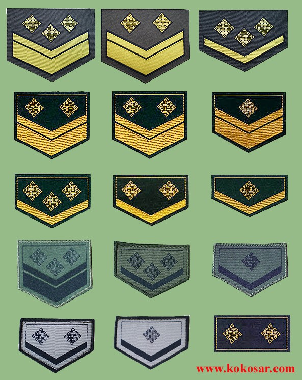 Croatian armed forces insignias Crocin11